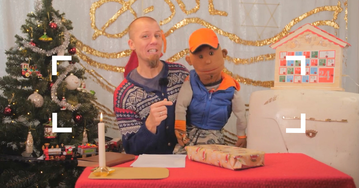 Julekalender med Øystein og Chris – dette gleder jeg meg til!