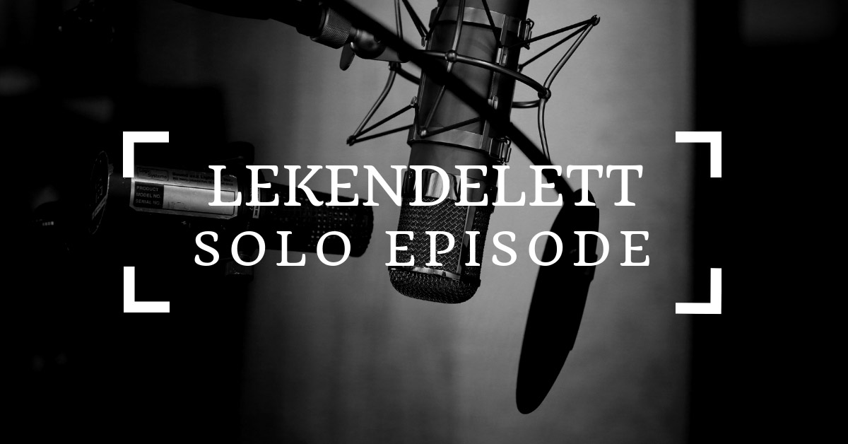 Lekendelett solo-episode – Mål for 2019