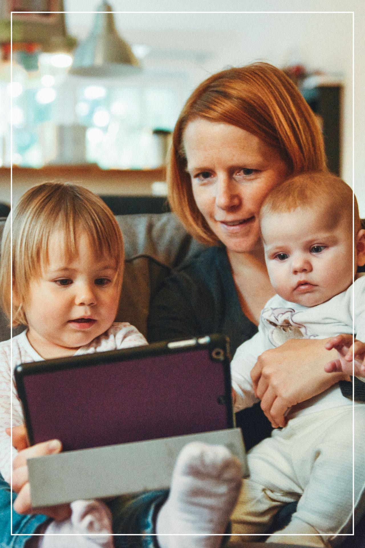 Gode nettressurser for barn - illustrasjon