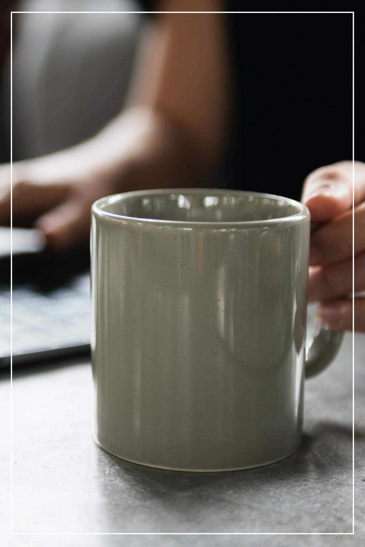 Illustrasjon: kaffekopp